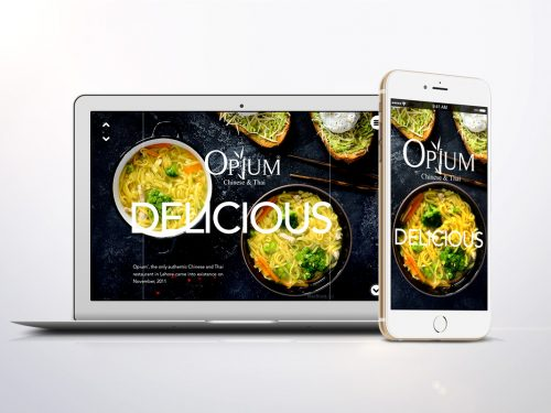 website opium chinese thai restaurant