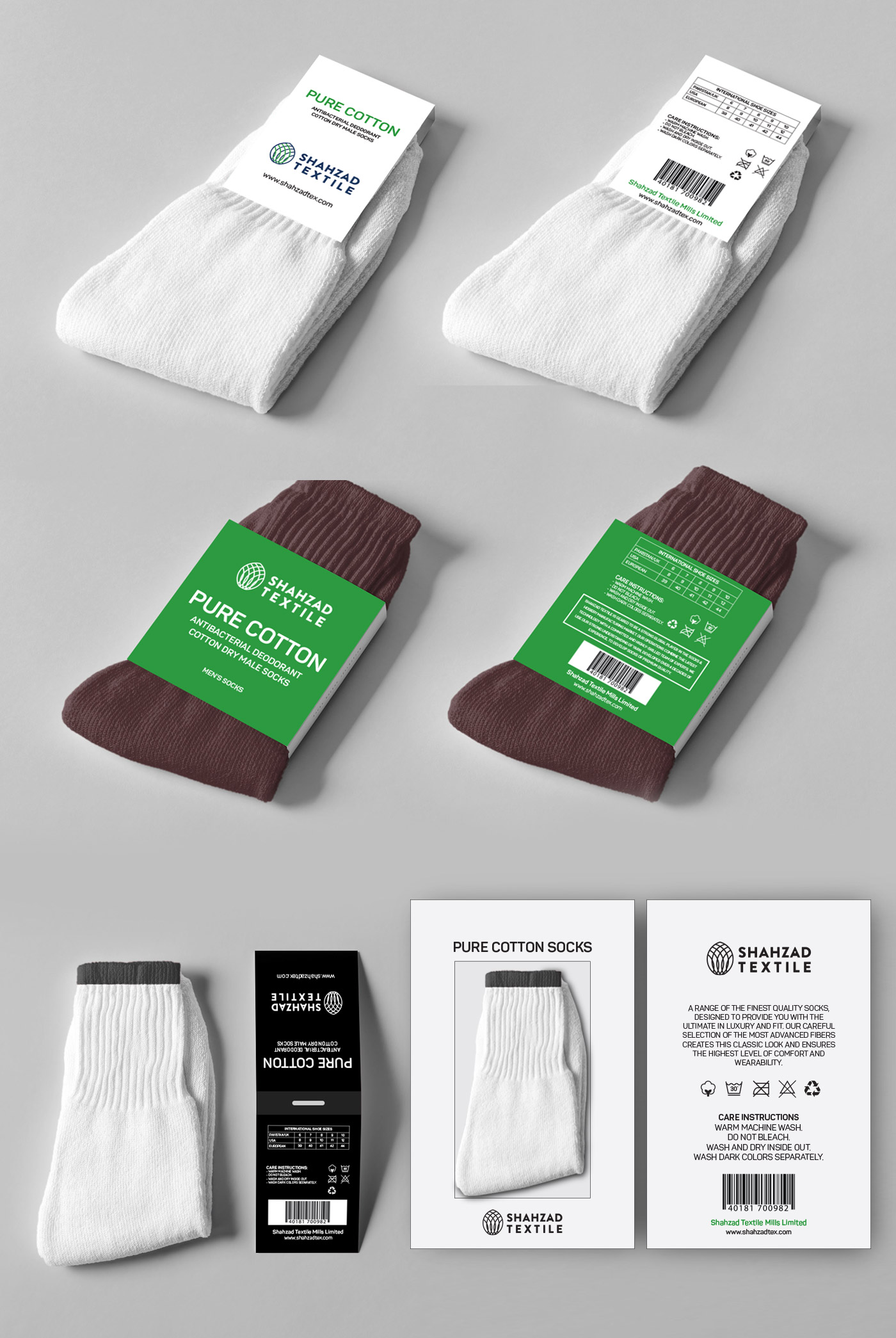 packaging of socks design