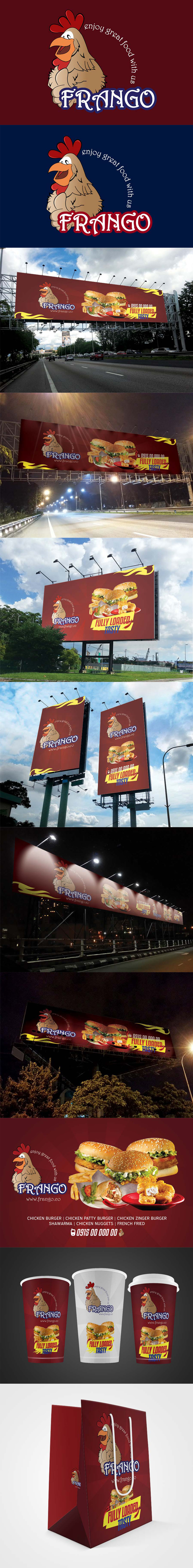 Fast-food-outdoor-campaign